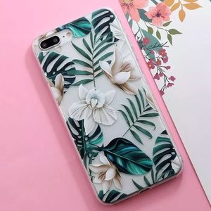 Accessories - NEW iPhone 6+/6s+ Tropical TPU Phone Case